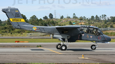 FAC-2210 - North American OV-10A Bronco - Colombia - Air Force