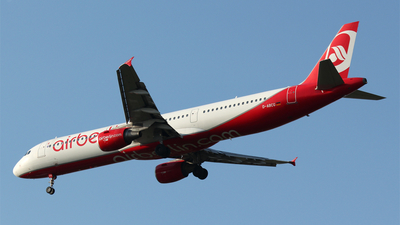 D-ABCG - Airbus A321-211 - Air Berlin