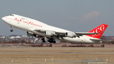 D-ACGB - Boeing 747-409(BDSF) - Air Cargo Germany