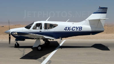 4X-CYB - Rockwell Commander 112A - Private