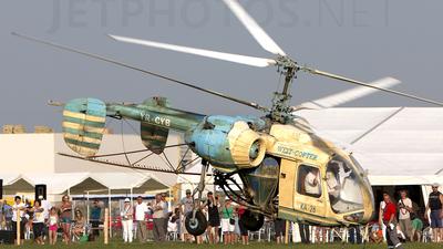 YR-CYB - Kamov Ka-26 Hoodlum - Private
