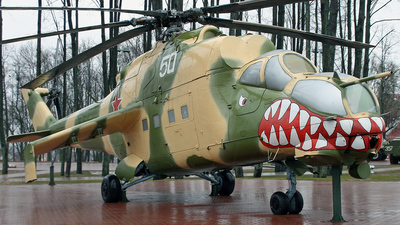 50 - Mil Mi-24V Hind E - Soviet Union - Air Force