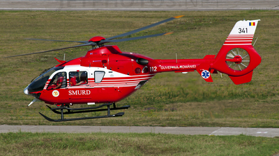 341 - Eurocopter EC 135T2 - Romania - Emergency Rescue Service (SMURD)