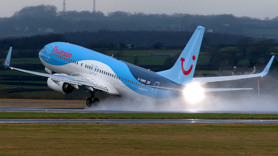 G-TAWR - Boeing 737-8K5 - Thomson Airways