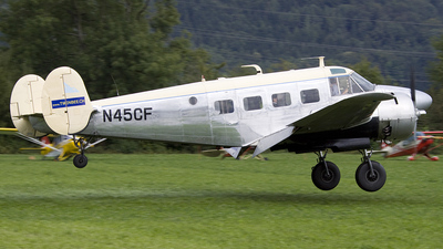 N45CF - Beech G18S - Private