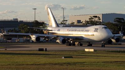 9V-SFA - Boeing 747-412F(SCD) - Singapore Airlines Cargo