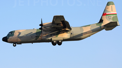 525 - Lockheed Martin C-130J-30 Hercules - Oman - Royal Air Force