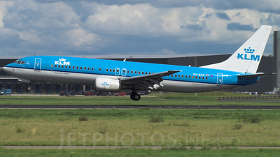PH-BXA - Boeing 737-8K2 - KLM Royal Dutch Airlines