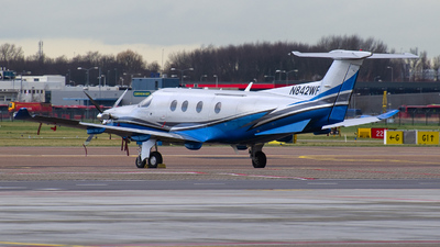 A picture of N842WF - Pilatus PC12/47 - Boutique Air - © Dutch