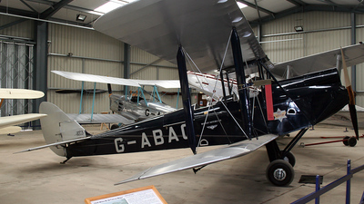 G-ABAG - De Havilland DH-60G Gipsy Moth - Untitled