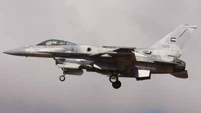 3029 - General Dynamics F-16E Fighting Falcon - United Arab Emirates - Air Force