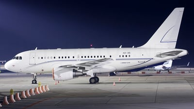 HZ-A5 - Airbus A318-112(CJ) Elite - Alpha Star Aviation Services