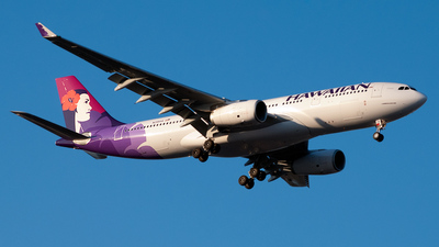 N391HA - Airbus A330-243 - Hawaiian Airlines