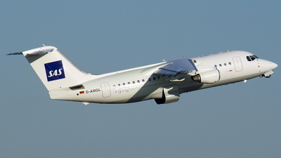 D-AMGL - British Aerospace BAe 146-200 - Scandinavian Airlines (WDL Aviation)