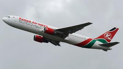 5Y-KQZ - Boeing 767-36N(ER) - Kenya Airways