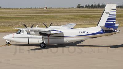 LV-MDN - Rockwell 690B Turbo Commander - Private