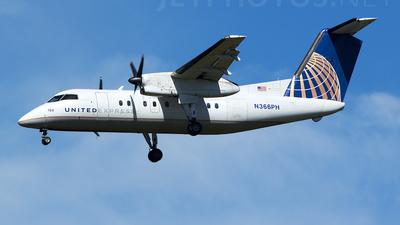 A picture of N366PH - De Havilland Canada Dash 8200 - [510] - © TarmacPhotos.com