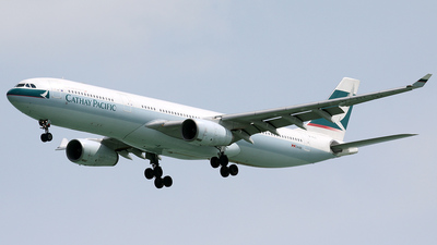 B-HLC - Airbus A330-342 - Cathay Pacific Airways