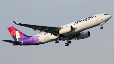 F-WWKT - Airbus A330-243 - Hawaiian Airlines