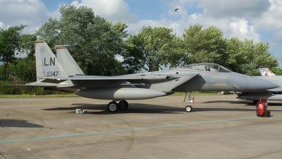 86-0147 - McDonnell Douglas F-15C Eagle - United States - US Air Force (USAF)