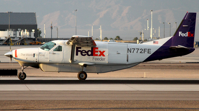 A picture of N772FE - Cessna 208B Super Cargomaster - FedEx - © Joshua Ruppert