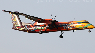 A picture of N425QX - De Havilland Canada Dash 8400 - [4039] - © Mike MacKinnon