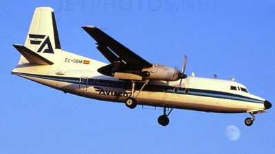 EC-DBM - Fokker F27-500 Friendship - Aviaco