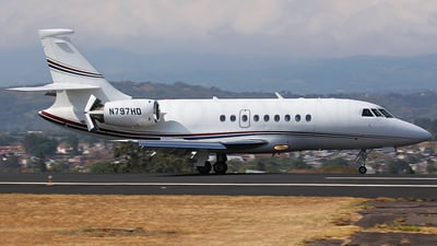 N797HD - Dassault Falcon 2000 - Private