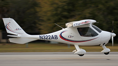 A picture of N322AB - Flight Design CTSW - [051005] - © James Dingell