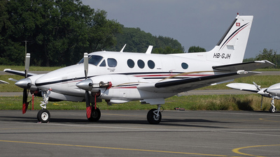 HB-GJH - Beechcraft 90 King Air - Flying Devil