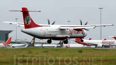 VT-DKE - ATR 72-212A(500) - Kingfisher Airlines