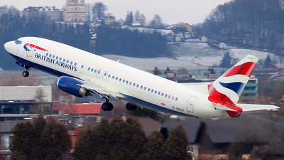 G-DOCS - Boeing 737-436 - British Airways