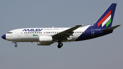 HA-LOR - Boeing 737-7Q8 - Malév Hungarian Airlines