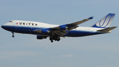N171UA - Boeing 747-422 - United Airlines