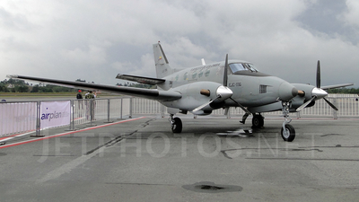 EJC-1116 - Beechcraft C90 King Air - Colombia - Army