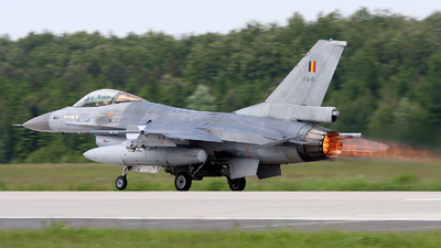 FA-81 - General Dynamics F-16AM Fighting Falcon - Belgium - Air Force