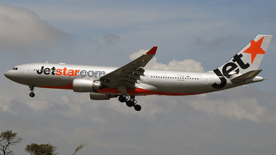 VH-EBK - Airbus A330-202 - Jetstar Airways