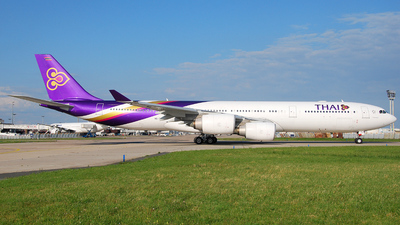 HS-TLD - Airbus A340-541 - Thai Airways International