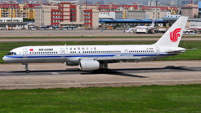 B-2821 - Boeing 757-2Z0 - Air China