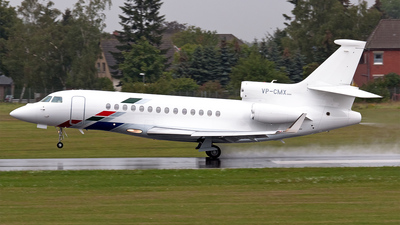 VP-CMX - Dassault Falcon 7X - VW Air Services