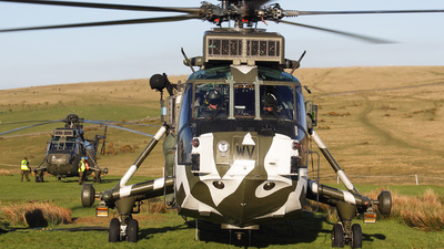 ZF115 - Westland Sea King HC.4 - United Kingdom - Royal Navy