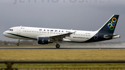 SX-OAU - Airbus A320-214 - Olympic Air