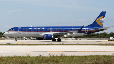 N167HQ - Embraer 190-100IGW - Midwest Airlines (Republic Airlines)