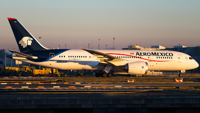 N961AM - Boeing 787-8 Dreamliner - Aeromexico