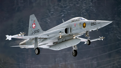 J-3092 - Northrop F-5E Tiger II - Switzerland - Air Force