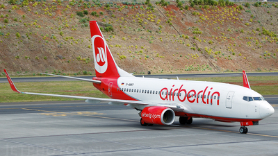 D-ABBT - Boeing 737-76N - Air Berlin