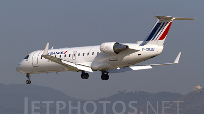 F-GRJU - Bombardier CRJ-100ER - Air France (Brit Air)