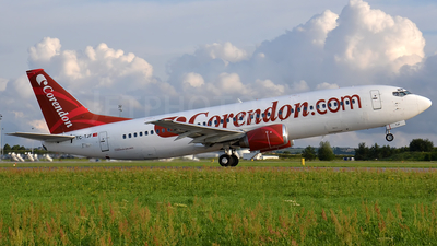 TC-TJF - Boeing 737-4Y0 - Corendon Airlines