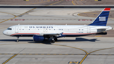 N672AW - Airbus A320-232 - US Airways