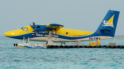 8Q-TMV - De Havilland Canada DHC-6-300 Twin Otter - Trans Maldivian Airways